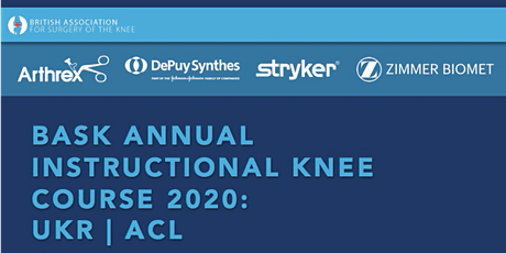 BASK ANNUAL INSTRUCTIONAL KNEE COURSE 2020 tickets