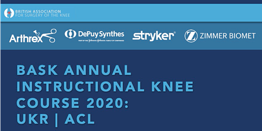 BASK ANNUAL INSTRUCTIONAL KNEE COURSE 2020