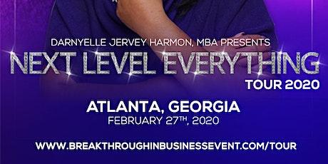 Next Level Everything Tour - Atlanta, GA tickets