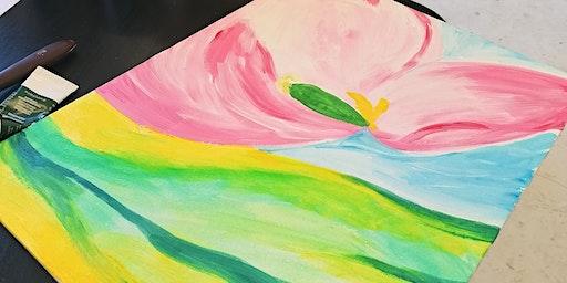 Spring Season: Acrylic Painting