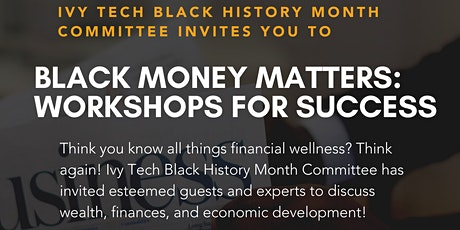 Black Money Matters: Workshops for Success tickets