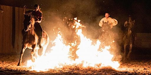 Feuershow - der verführerische Ritt in die Abenddämmerung