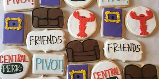 Friends Themed Decorating Night With Trivia!