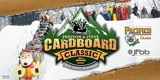 Preston & Steve's Cardboard Classic 2020 Sled Application
