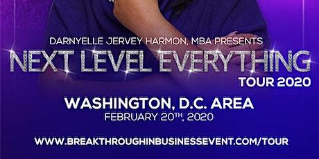 Next Level Everything Tour - Washington DC tickets