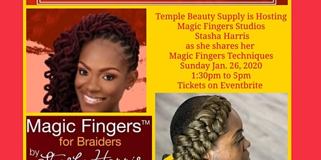 Magic Fingers Stasha Harris Meet & Greet at Temple Beauty Supply tickets