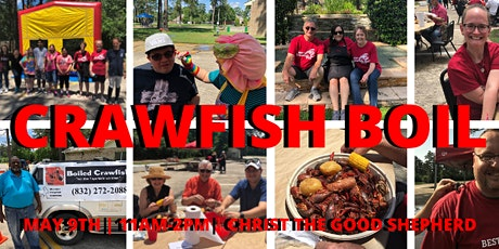 2nd Annual HPOTX Crawfish Boil tickets