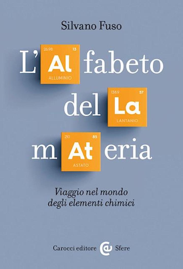 Immagine Eliseo Cultura: presentazione del libro L'alfabeto della materia