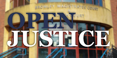 Open Justice tickets
