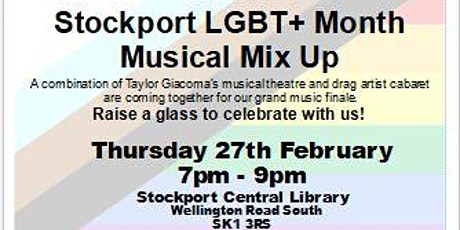 Stockport LGBT+ Month Musical Mix Up @ Stockport Central Library tickets