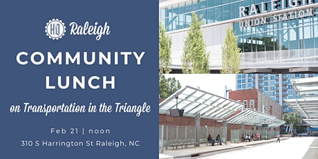 Community Lunch on Transportation in the Triangle tickets