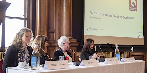International Women's Day with Business Gateway Edinburgh