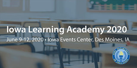 Iowa Learning Academy 2020 tickets
