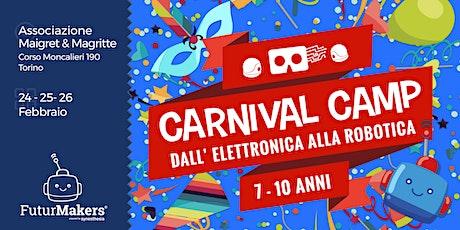 Carnival Camp (7-10 anni) biglietti