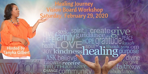 Healing Journey Vision Board Workshop