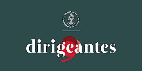 "3e Conférence du programme ""Dirigeantes"" tickets"