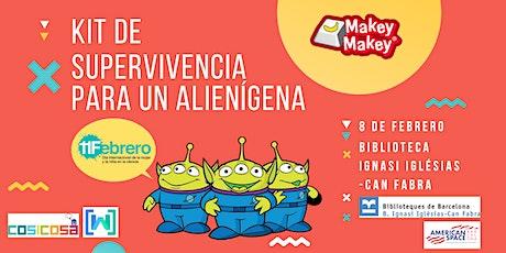 [WTM Barcelona Kids] Taller: Kit de supervivencia para un alienígena entradas