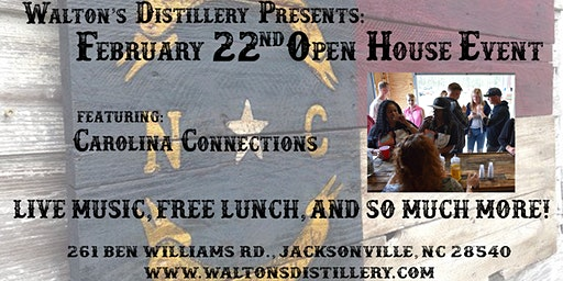 Walton's Distillery February Event!