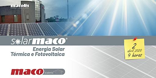 SolarMaco - Energia Solar Térmica e Fotovoltaica