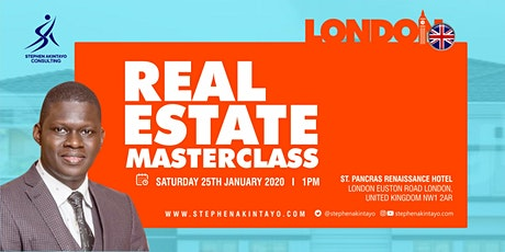 Real Estate Masterclass - London tickets