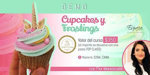 Demo de Cupcakes y Frostings con FLORENCIA MENESCALDI