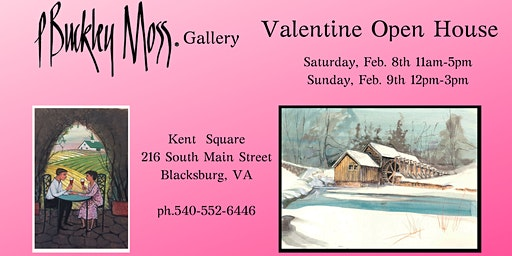 Valentine Open House and Artist Appearance