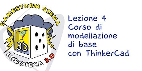 Copia di Ludoteca 3.0: Lez 4 Modelliamo con ThinkerCad biglietti