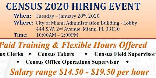 CENSUS 2020 Hiring Event