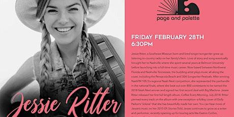 Jessie Ritter tickets