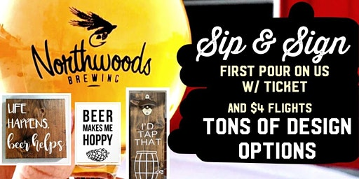 Sip & Sign ~ Pour Tour~ FE-BREW-ARY Events