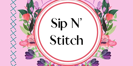 Sip N Stitch tickets