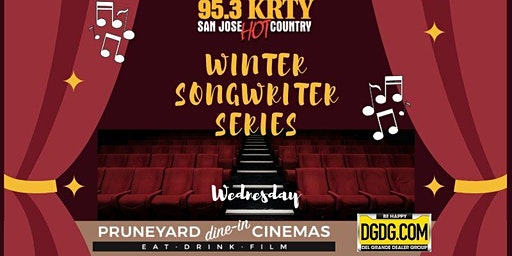 95.3 KRTY and DGDG.Com Present WINTER SONGWRITERS SERIES WEDNESDAY FEB 12