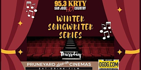 95.3 KRTY and DGDG.Com Present WINTER SONGWRITERS SERIES THURSDAY FEB 13 tickets