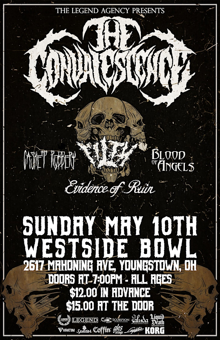 The Convalescence, Casket Robbery, Filth, Blood of Angels, Evidence of Ruin image