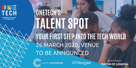 OneTech Talent Spot - Your first steps into the Tech World tickets