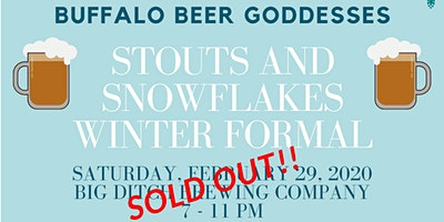 Buffalo Beer Goddesses Stouts and Snowflakes Winter Formal