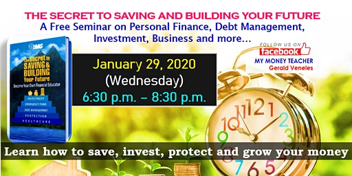FREE INVESTMENT SEMINAR: SAVING AND BUILDING YOUR FUTURE