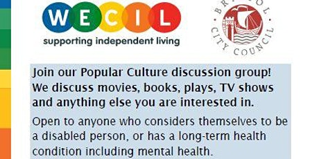 WECIL Popular Culture Discussion Group tickets