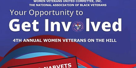 4th Annual Women Veterans On The Hill tickets