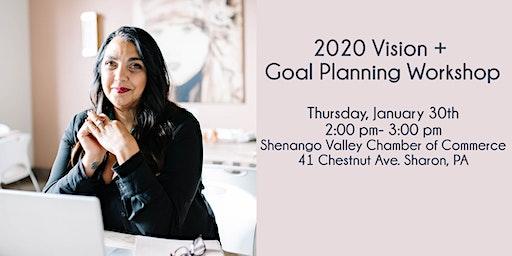 2020 Vision & Goal Planning