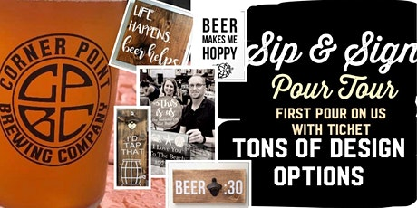 Sip & Sign ~ Pour Tour~ FE-BREW-ARY Events tickets