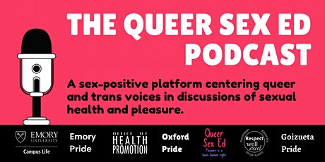 Queer Sex Ed Live Podcast Taping tickets