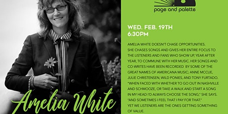 Amelia White tickets