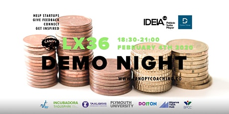 #DemoNightLx36 - Raising Seed Funds bilhetes