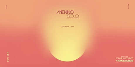Menno Solo - UK Finale tickets