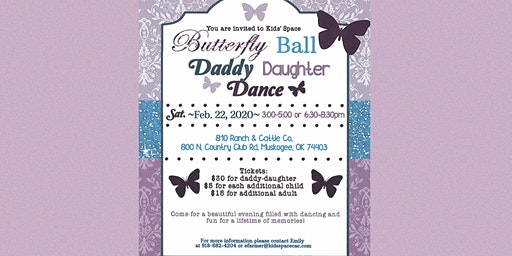 2020 Butterfly Ball Daddy Daughter Dance