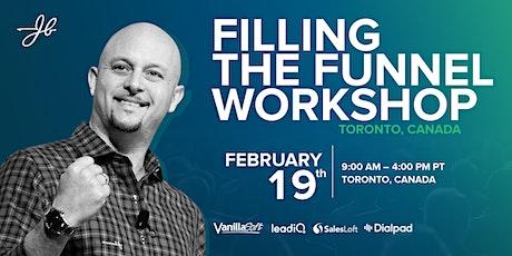 Filling The Funnel Workshop - Toronto tickets