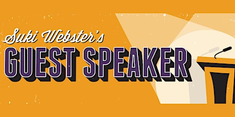 Hoopla: Suki Webster's Guest Speaker! tickets