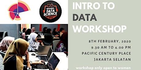 SheLovesData Jakarta: Introduction to Data tickets
