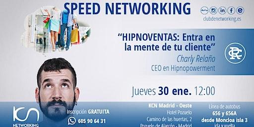 Speed Networking y Ponencia: Hipnoventas: Entra en la mente de tu cliente